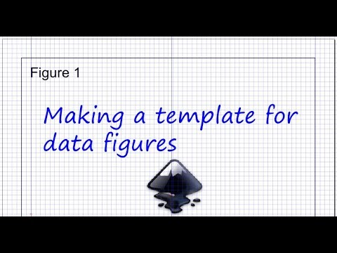 Inkscape For Scientists 02 Making Templates For Data Figures Illustrations