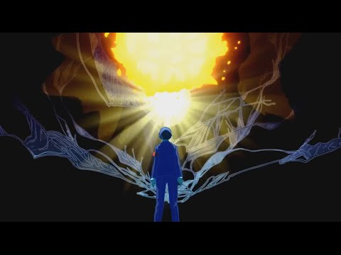 Persona 3 Movie The final battle vs Nyx true form - Burn My Dread (BGM Edited)