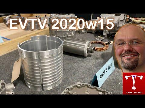 #163 Porovnání motorů Tesla Model 3 a Audi eTron 2020w15 | EVTV | Teslacek