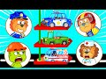 Super Rescue Team with Fire Truck, Police Car, Ambulance | Lion Family | Cartoon for Kids