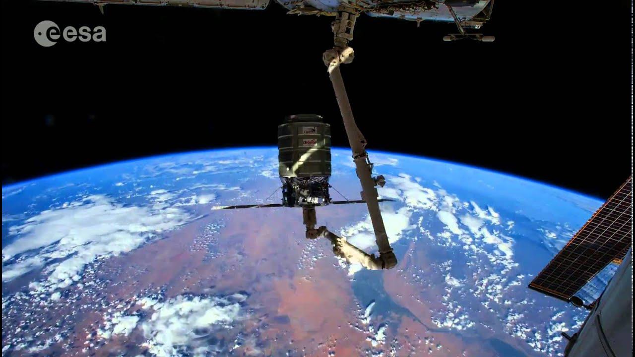 Astronauta film la tierra desde el espacio en alta definicin