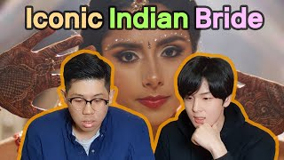 Koreans Mesmerized by 'Iconic Indian Bride😍' | Indian Bridal Style Reaction