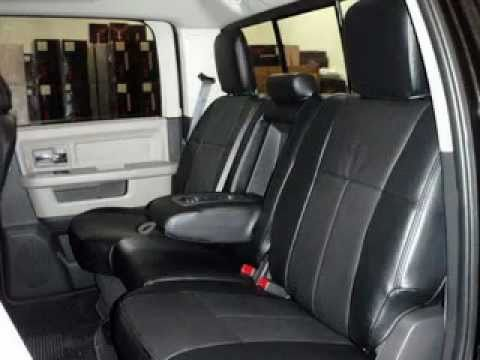 Dodge Ram1500 With Clazzio Seat Cover Before After Youtube