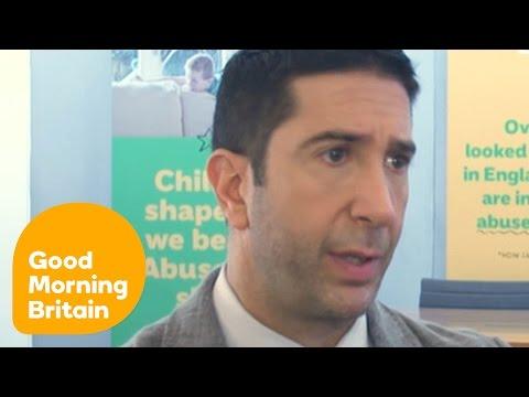David Schwimmer Believes Child Abuse Is Underestimated | Good Morning Britain