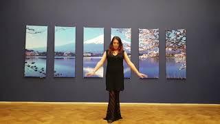 Видеоуроки по базе танца живота от Лейлы Адоры. Урок 9