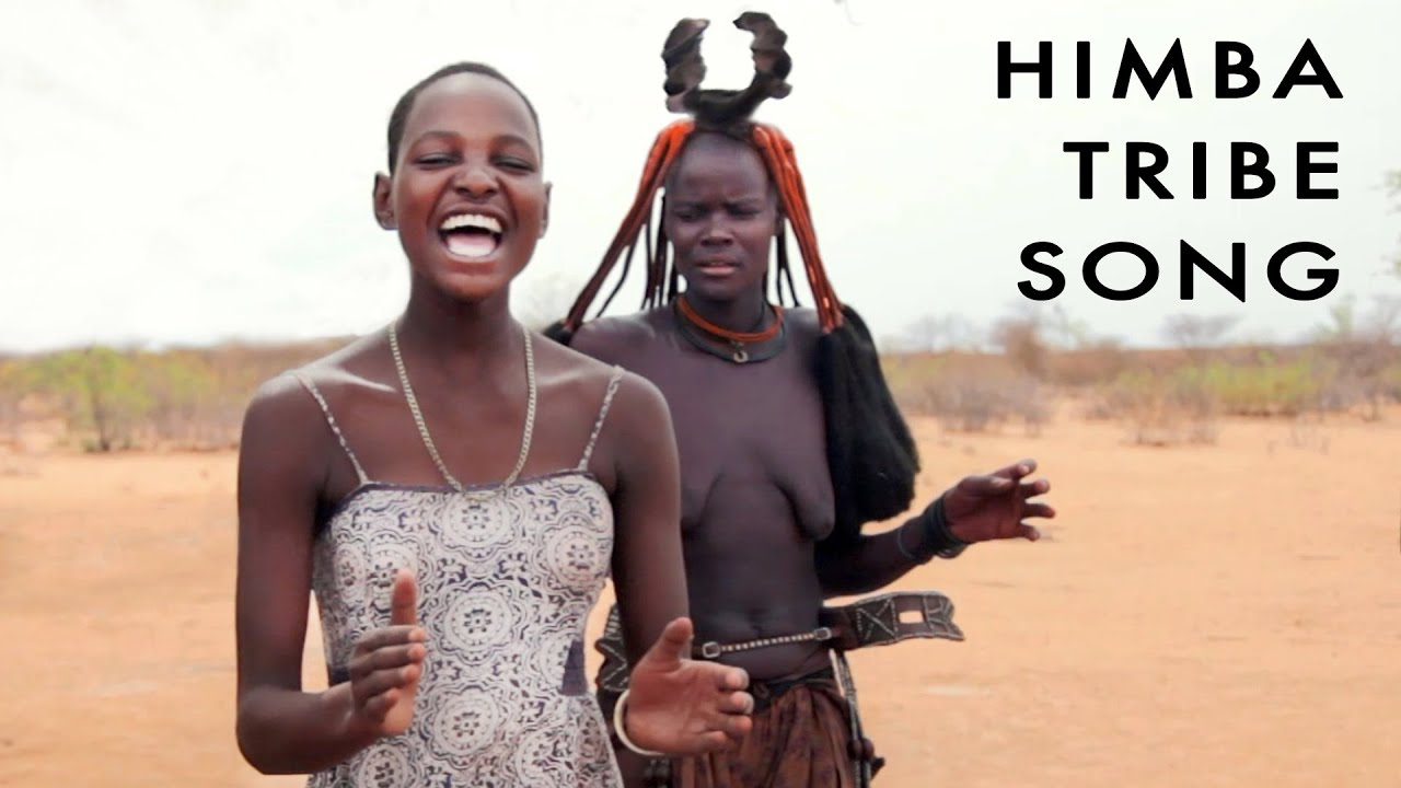 Himba Tribe Song. Young Girls Dance. African Tribal Folk Music. Namibia