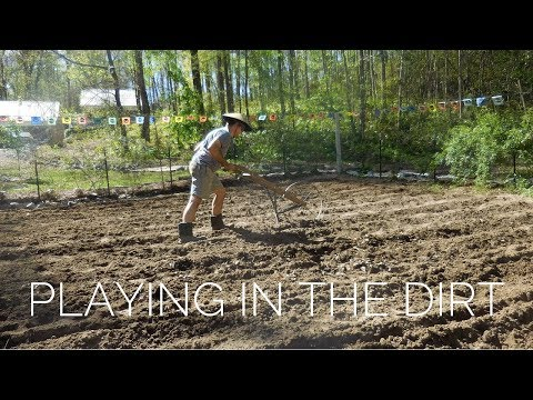 BACK IN THE GARDEN!!!  Sowing Seeds, Plowing The Soil, & Taking Names!!