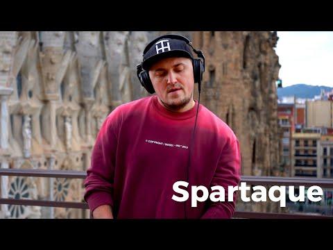 Spartaque - Live @ Radio Intense Barcelona, Sagrada Familia 27.01.2021 / Techno DJ Mix