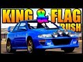 KING AND FLAG RUSH MADNESS | Forza Horizon 3 ONLINE GAMES!