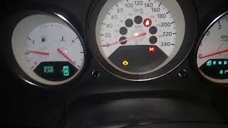 Запуск двигателя Dodge Caliber после ночи. -3 градуса.