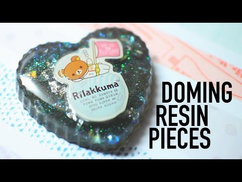 Doming Resin Pieces    carvecakes