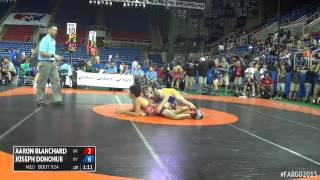 Gambar cover 126 Cons. Round 2 - Joseph Donohue (New York) vs. Aaron Blanchard (Oregon)