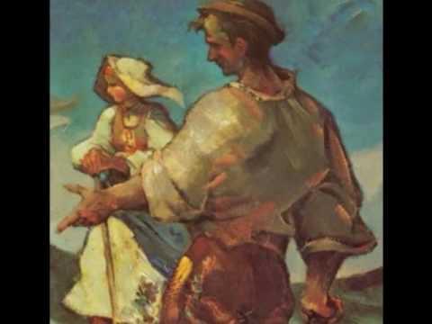 folk song Slovakia Ľudová pieseň Lúčka/Anton Gajdoš