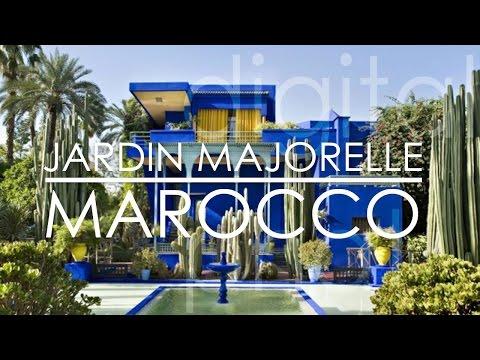Jardin Majorelle – Yves Saint Laurent's Garden – Marrakech