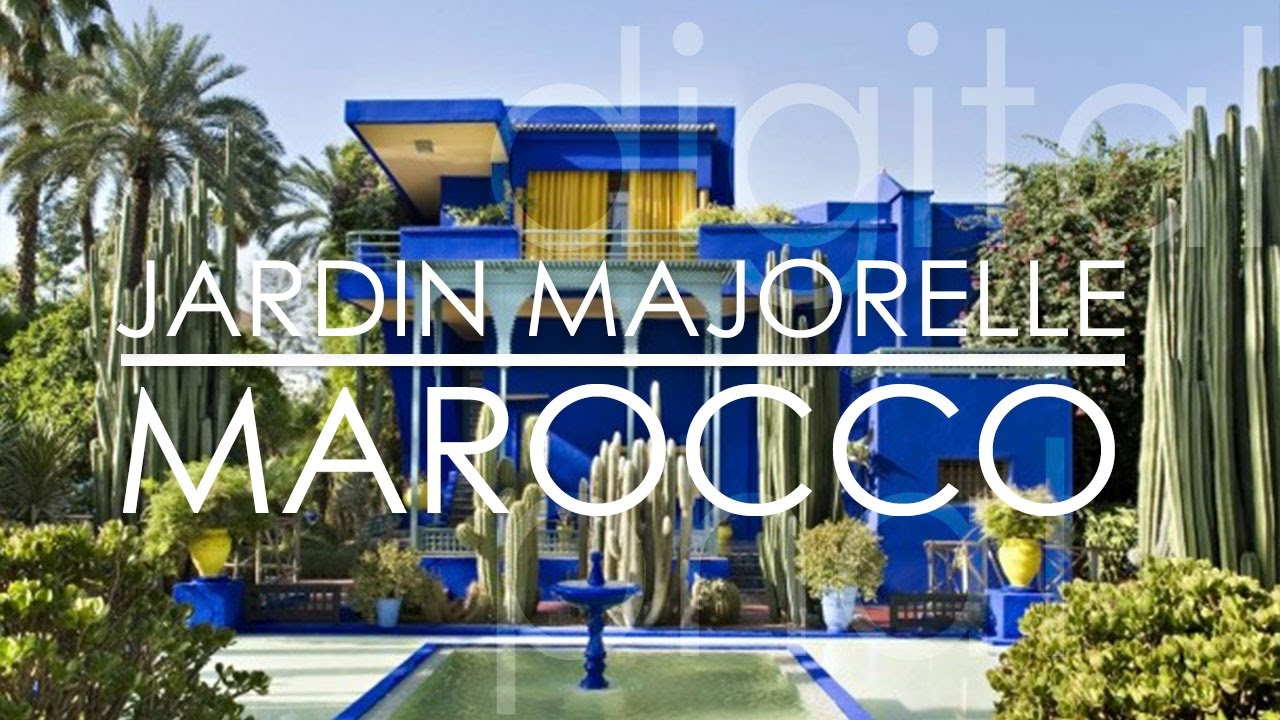 Jardin majorelle yves saint laurent 39 s garden marrakech for Jardin marrakech