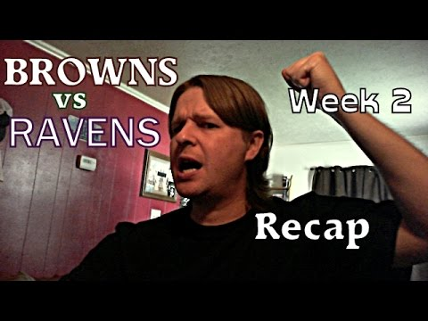 Cleveland Browns vs Baltimore Ravens Week 2 recap video