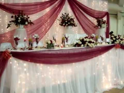 Danny wedding decoration calgary with real flowers and cherry at danny wedding decoration calgary with real flowers and cherry at temple green hall junglespirit Image collections