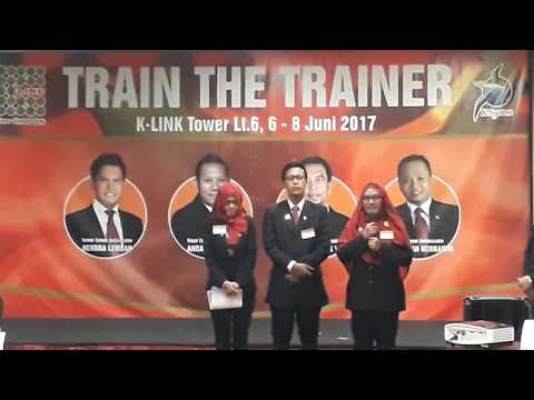 Train The Trainer K-LINK Indonesia, 6-8 Juni 2017