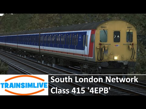 Train Simulator 2015 - South London Network, Class 415 4EPB