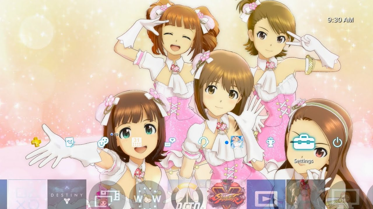 the idolm aster platinum stars cute theme ps4 youtube