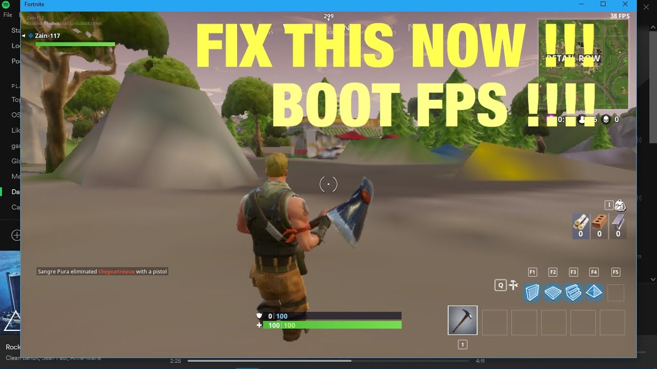 *NEW* FORTNITE FIX TEXTURES NOT LOADING AND FIX LOW FPS