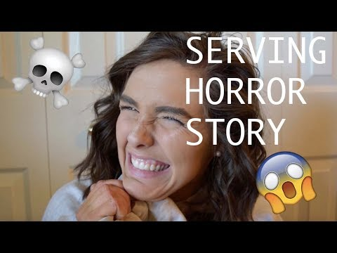 SERVING HORROR STORY//why I left my job