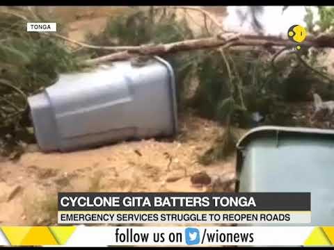Cyclone Gita causes widespread damage in Tonga