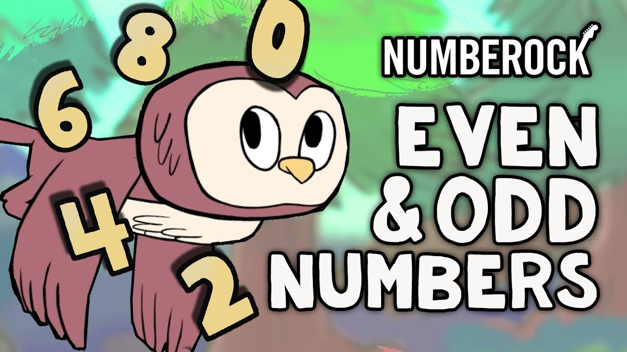 Even and Odd Numbers Song for Kids   Odds and Evens for Grades 2 \u0026 3 -  YouTube [ 720 x 1280 Pixel ]