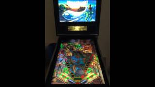 Pro Pinball Ultra: Timeshock! in Cabinet with real DMD