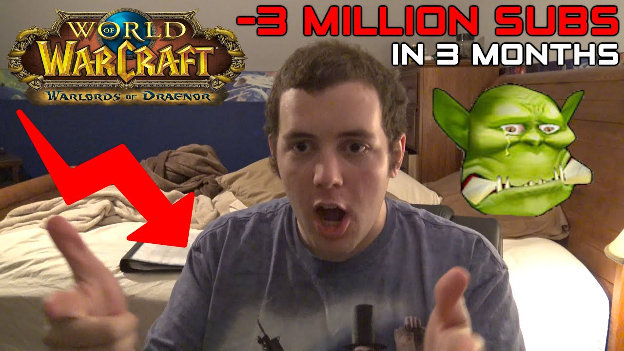 let s talk wow loses 3 million subscribers in 3 months what went