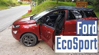 Ford Ecosport AWD: test sulle Dolomiti