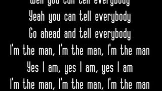 Aloe Blacc - The Man (Lyrics)