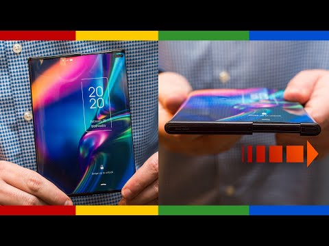 TCL's sliding-screen concept phone