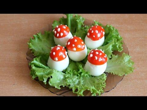 Салаты из яйца фото