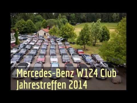 Mercedes-Benz W124 Club Jahrestreffen | Luftaufnahmen Drohne