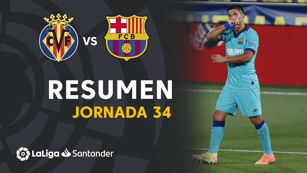 Download Resumen de Villarreal CF vs FC Barcelona (1-4)