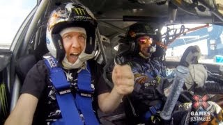GoPro: Gymkhana Ride Along ft. Nick Swardson and Ken Block - Summer X Games Los Angeles 2013