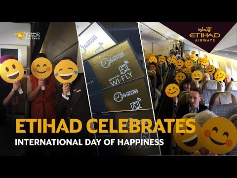 International Day of Happiness | Etihad Airways