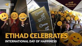 International Day of Happiness | Etihad Airways