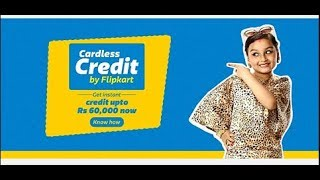 Flipkart Cardless Credit Feature | Buy Up To Rs 60,000 Without Credit Card