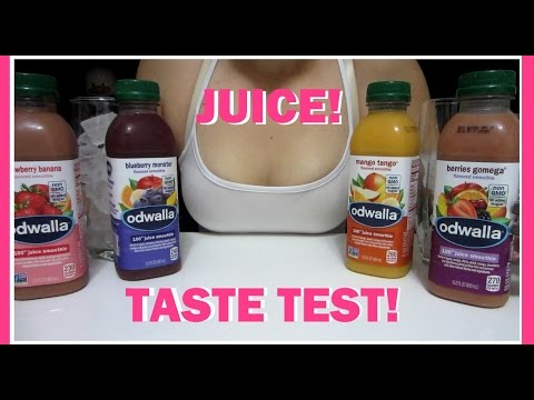 MUKBANG / TASTE TEST - JUICE!