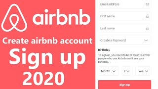 Gambar cover airbnb.com Sign Up | Create airbnb.com New Account 2020 | www.airbnb.com