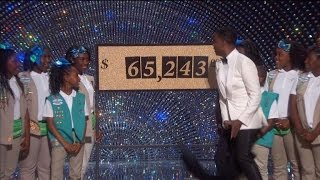 Chris Rock Sells Over $65,000 of Girl Scout Cookies at The Oscars