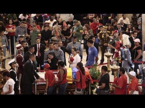 Vénézuéla : les alliés de Chavez se pressent à ses funérailles
