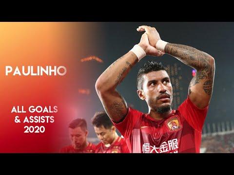 Paulinho ● Season 2020 ● All goals & assists ● Guangzhou Evergrande ● Chinese Super League