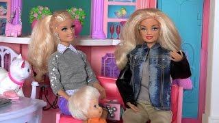 Кен превратился в девушку Сериал Барби Мультфильм Видео с куклами для детей Смотреть