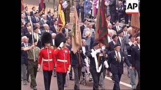 UK - 50th Anniversary Of VJ Day Festivities