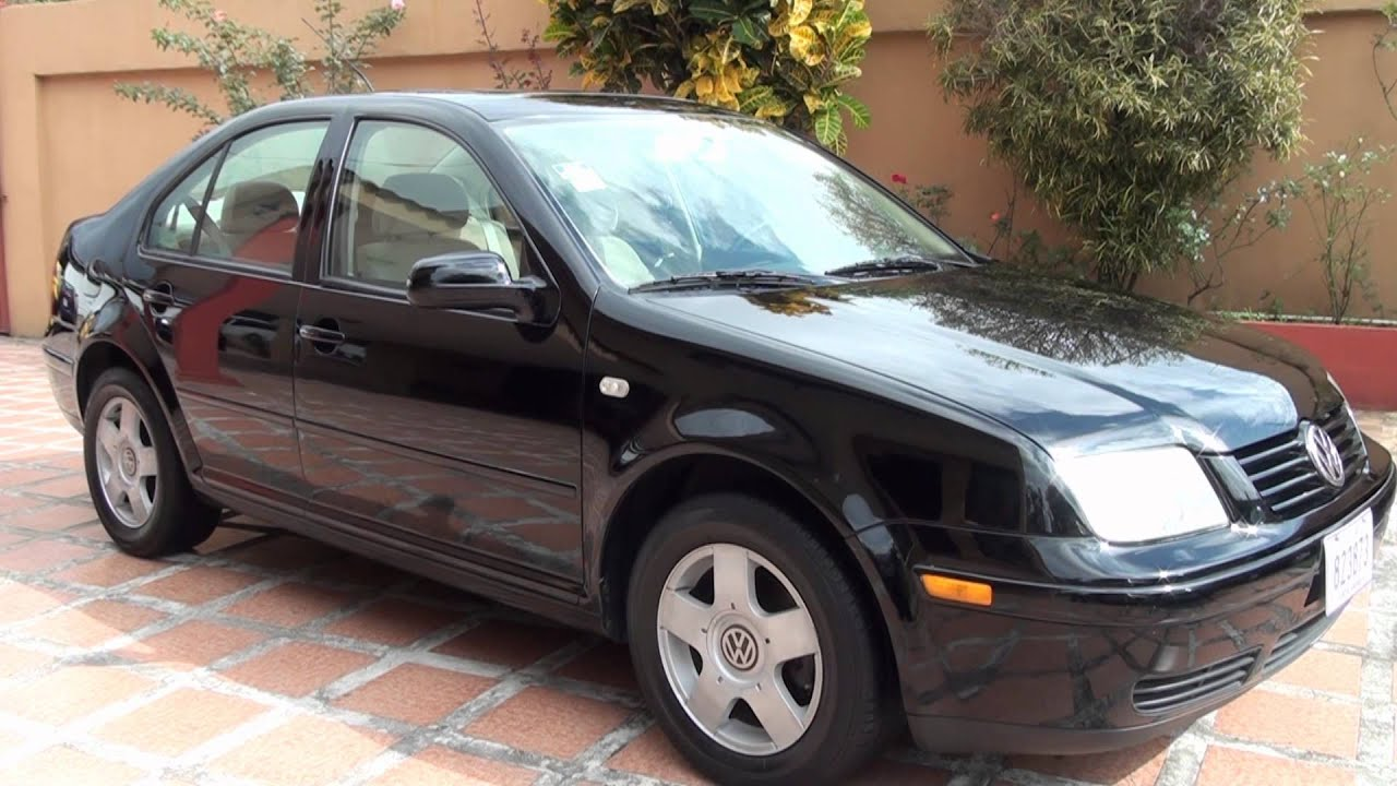 Volkswagen Jetta 2000 Manual 4pts  Negro
