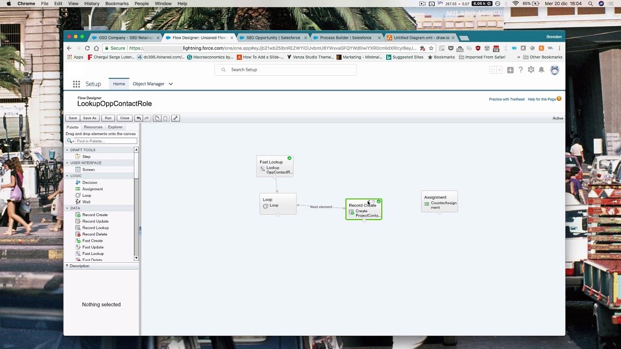 Using Loops in Salesforce Flows
