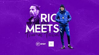 Rio Meets Thomas Tuchel | His Thoughts on the Premier League and Chelsea's young prospects.